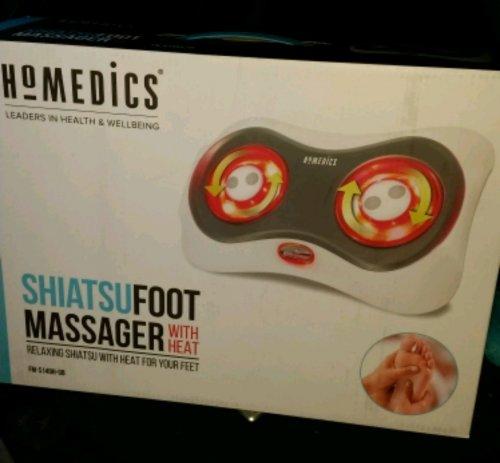 Boots - homedics shiatsu foot massager with heat £10 instore