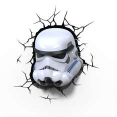 Starwars Storm troopers 3d lamp half price was £15.00 now £7.50 @ Sainsbury's - Belfast