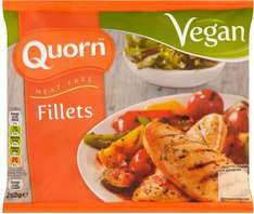 Quorn Meat Free Vegan Fillets (252g) was £2.50 now £1.75 @ Sainsbury's