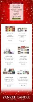 Up to 50% Off Various Yankee Candle Sets @ Candles Direct (Delivery £2.99)