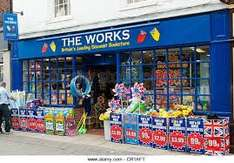 Get 20% discount instore @ The Works by ordering any item online for free click and collect to your local store.
