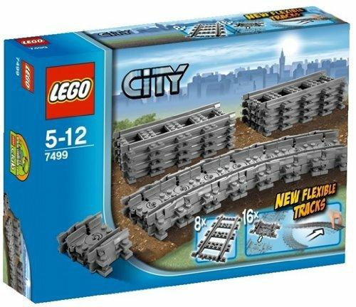 LEGO City 7499 Flexible Tracks - £8.14 @ Amazon (Prime exclusive)