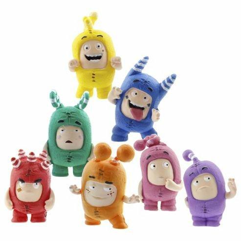 Oddbods Pack of 7 Figurine Set £1.98 @ Tesco Direct free c&c