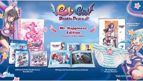 Gal*Gun: Double Peace Mr. Happiness Edition (inc. 'screen cleaner') PS4/Vita £36.94/£34.44 @ Rice Digital