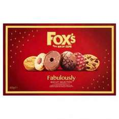 FOX'S FABULOUSLY BISCUITS SELECTION BOX 600G £2.99 @ Poundstretcher