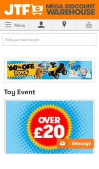 Toy Event | JTF 60% OFF + FREE DELIVERY