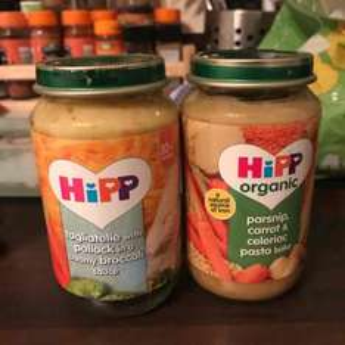 B+m hipp organic food jars 10m+ 39p @ B&M - Swansea