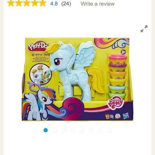 Play-Doh My Little Pony Rainbow Dash Salon £5.95 tesco