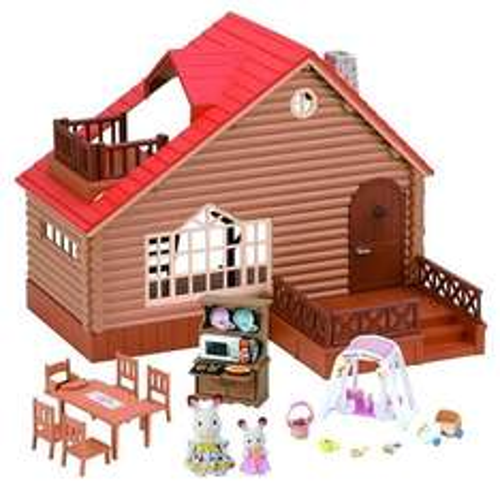 Sylvanian families log cabin with extras - £39.99 via Amazon