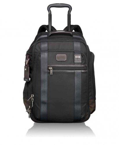 Tumi Alpha Bravo Peterson Wheeled Backpack, Hickory (Black) - £324.74 via Amazon