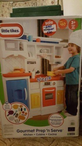 ASDA - Little Tykes - Gourmet Prep 'n Serve - Instore (Merry Hill) - £30
