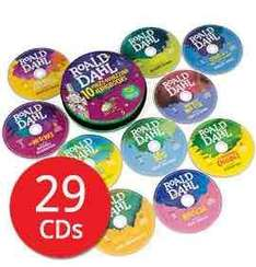 Roald Dahl 29 Disc audio books for £18 with code for delivery @ The Book People