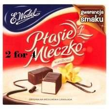 E.Wedel Dark Chocolate Covered Vanilla Marshmallows two for £4 at Tesco