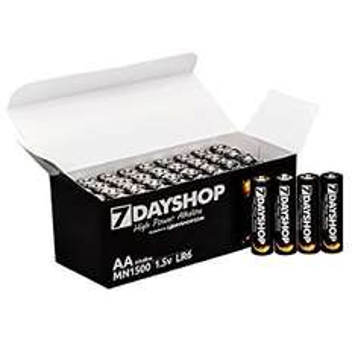 40 x AA Batteries Alkaline 7dayshop for £7.69 delivered: 7dayshop @ Amazon
