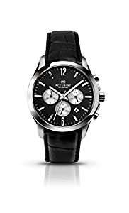 £45.99(green/brown, was £100) or £47.99(black, was £125) Accurist Men's Quartz Watch with Chronograph Display and Leather Strap £45.99 @ amazon.co.uk