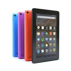 "Amazon Fire 7 Tablet, Quad-core 7"" 16GB ☆4 COLOURS☆ £44.95 John Lewis 2 Year Guarantee (FREE NEXT DAY C&C)"
