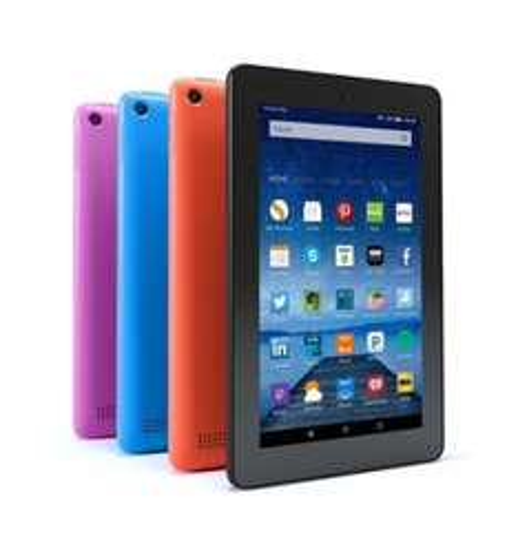 "Amazon Fire 7 Tablet, Quad-core 7"" 16GB Wi-Fi (all Colours) + free delivery £44.99 @ Amazon"