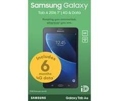 Samsung tab a 7inch 4g tablet with 6 months 4G data £119.99 Currys