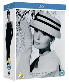 Audrey Hepburn Collection on Blu-Ray £7.99 (Prime) / £9.98 (non Prime) at Amazon