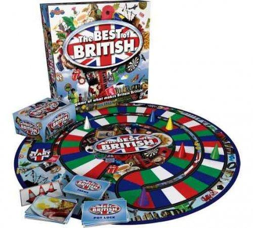 The Best Of British Board Game £12.49 Argos