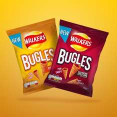 Free bag Walkers Bugles at WH Smith with O2 Priority