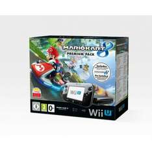Wii U Console 32gb Black Premium Mario Kart Pack £229.99 smythstoys