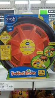 vtech Toot-Toot Drivers Carry Case down to £11.25 instore @ Asda