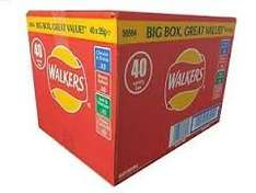Walkers 40 pack box - £2.79 @ Buyology