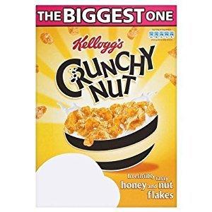 Kellogg's Crunchy Nut Cornflakes  big 1kg box £2.50 @ Morrisons instore