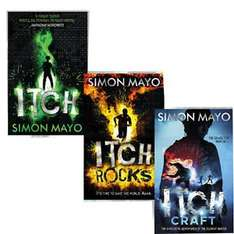 3 Itch books by Simon Mayo - £5 @ The Works - Free c&c