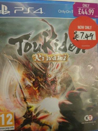 Toukiden Kiwami PS4 £7.45 @ Game instore Stirling