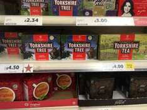 Yorkshire Tea 240 at Tesco - £4