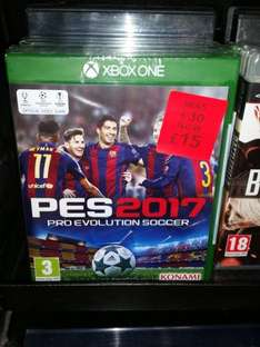Xbox One - Pro Evolution Soccer 2017 £15 in Asda instore Blackwood, Caerphilly - £15