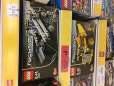 Lego Technic instore at Sainsbury's £5 reduced from £15