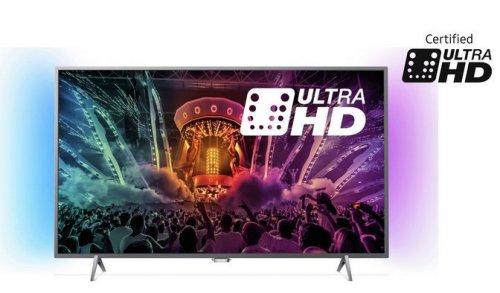 Philips 55PUS6401 55 Inch 4K Ambilight Smart TV - £599 - Argos