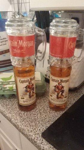 Captain Morgans Spiced Rum. 2 x 70cl bottles with glasses for £20 at Tesco - Bridgend