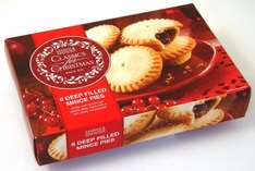 M&S Deep Filled Mince Pies £1 in store today