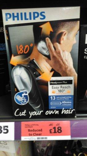 philips qc5570 diy hairclipper £18  maybe national @ Sainsbury's instore