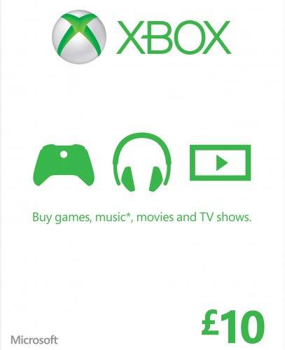 Xbox Live £10 Credit £4.97 + £2 P&P (£6.97) @ Gamestop