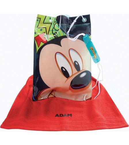 Personalised Towel & Swimbag Set Mickey Mouse @Studio, £7.48 (-£4.99 postage =£2.49)