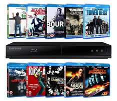 Samsung Blu-Ray player & 10 Blu-Ray Films £45 delivered @ Zoom