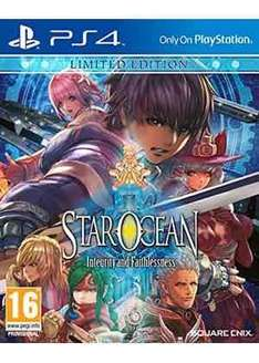 Star Ocean: Integrity and Faithlessness Limited Edition (PS4) £19.99 @ base