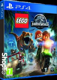 LEGO Jurassic World (PS4) £12.85 Delivered @ Shopto