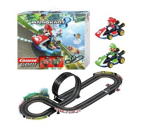 Carrera Go Mario Kart 8 track 360 degree loop set with Mario & Luigi now £34.99 @ Argos