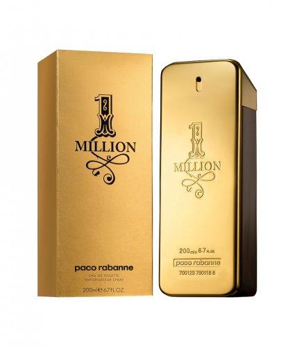 Paco Rabanne 200ML -1 Million Eau de Toilette 20% off & further 10% off with code £56.69 @ Perfume Shop