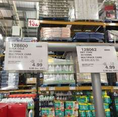 30 Can pack of Coca-Cola (and diet) for £5.98 @ Costco (IN STORE)