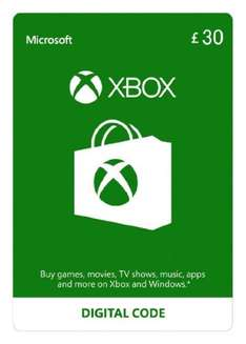 £30 Xbox Live Credit (Digital Code) for £25.90 @ Amazon