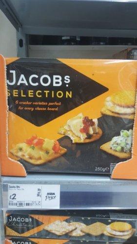 Jacobs crackers £2 asda