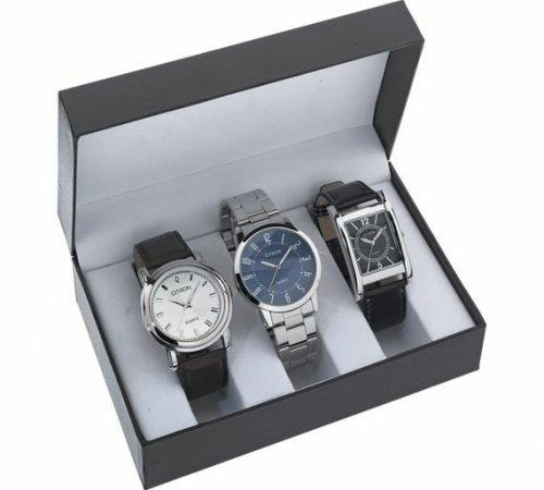 Three Citron watches  Argos £19.99