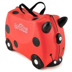 [Deal of the Day] Trunki ride-on suitcase Harley the red ladybug for £25.99 (other colors from £22.49) @ Amazon